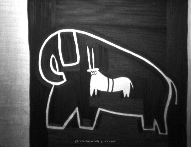 Just a kudu inside an elephant