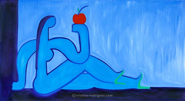Eve et la pomme