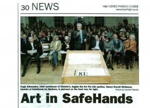 Art in safe hands