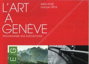 L'Art à Genève featuring Cristina's new exhibition