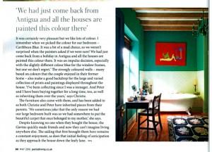 La Despedida featured in Period Living Magazine
